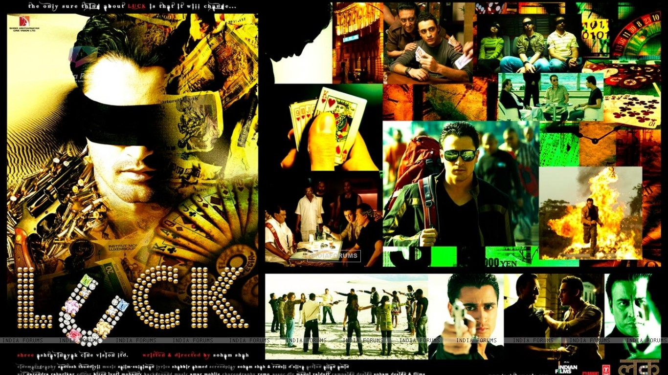 Luck movie wallpaper with Imran Khan (20312) size:1366x768