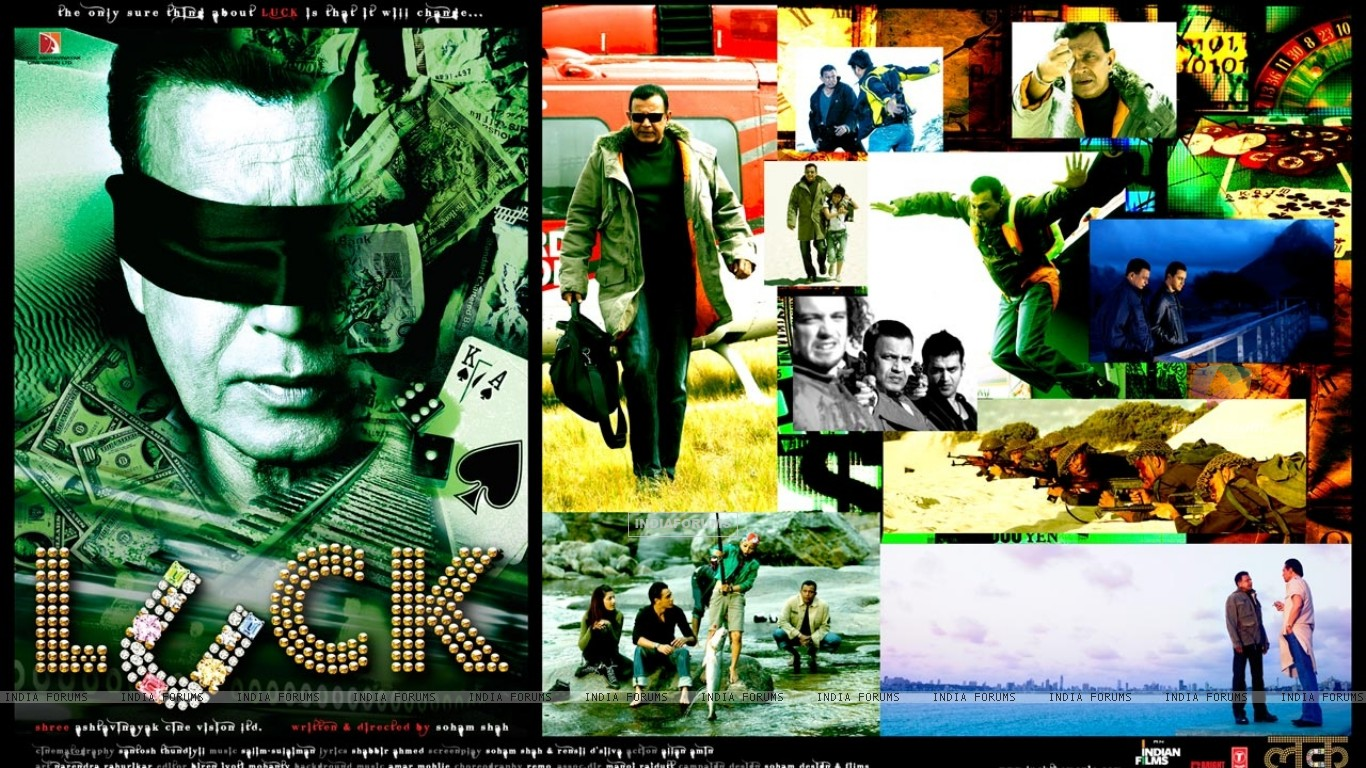 Wallpaper of Luck movie with Mithun Chakraborty (20318) size:1366x768