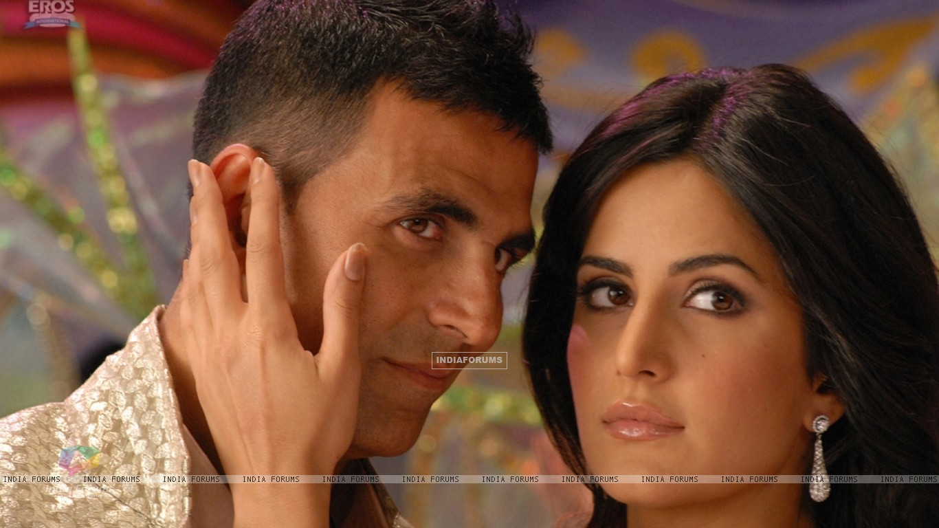 Still image of Akshay Kumar and Katrina Kaif (38746) size:1366x768