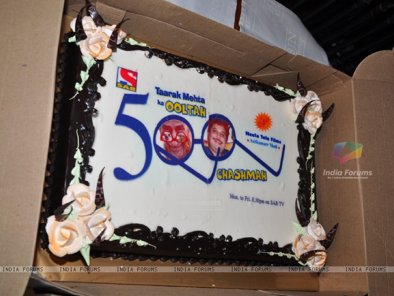 The celebration cake of Taarak Mehta Ka Ooltah Chashmah (112768) size:800x600