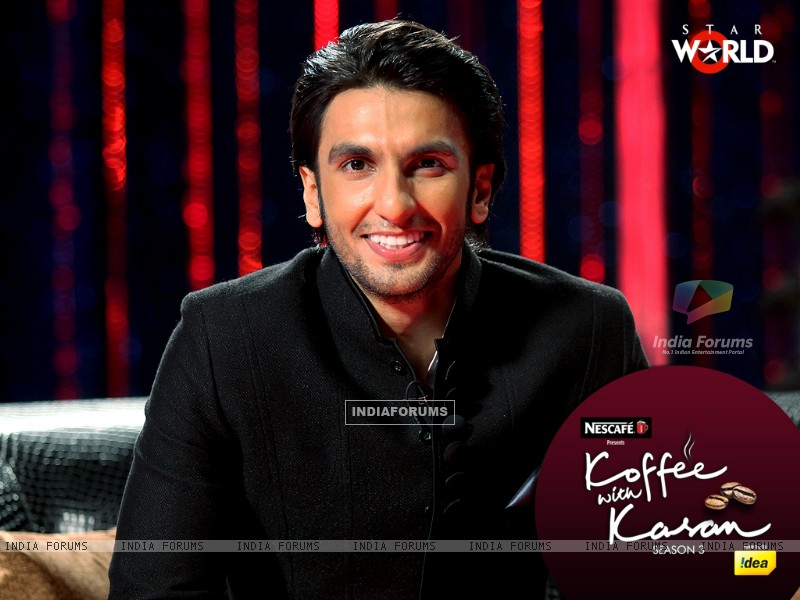 Ranveer Singh on Koffee with Karan (149343) size:800x600