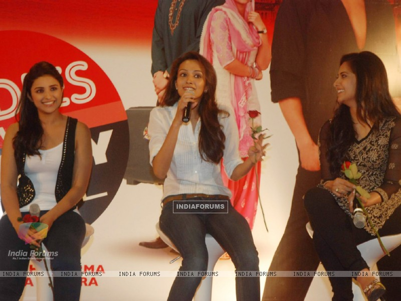 Parineeti Chopra, Dipannita Sharma, and Aditi Sharma grace Ladies V/s Ricky Bahl event at Yashraj, Mumbai. . (172822) size:800x600