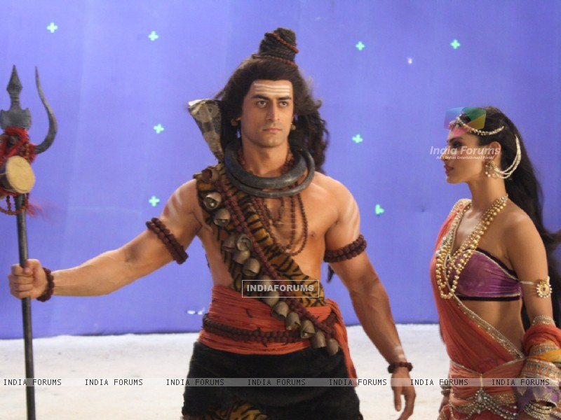 Still image of Shiv & Sati from Devon Ke Dev. Mahadev (180971) size:800x600