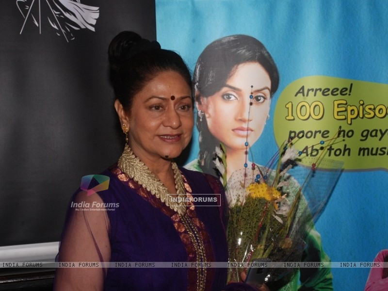 Aroona Irani at celebration party of 100 episodes of Hitler Didi (191546) size:800x600
