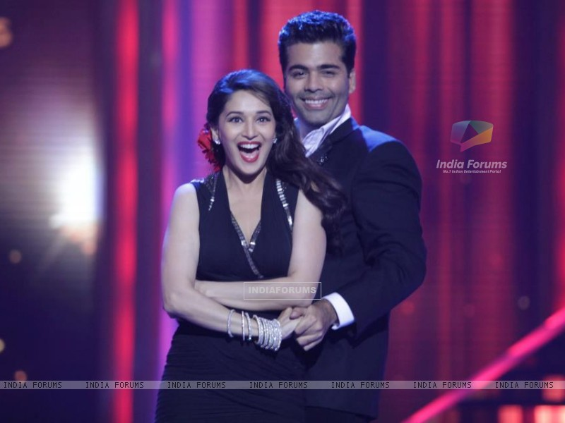 Madhuri and Karan on Jhalak (204620) size:800x600