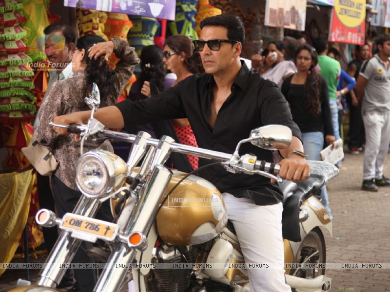Divine Bike For Akshay Kumar In OMG Oh MyGod (221955) size:800x600