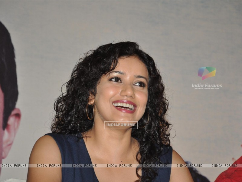 Bollywood actress Shreya Narayan during the film Prem Mayee press meet at Hotel Four Seasons in Juhu, Mumbai. (229829) size:800x600
