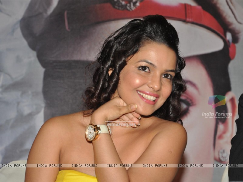 Bollywood actress Chitrashi Rawat during the film Prem Mayee press meet at Hotel Four Seasons in Juhu, Mumbai. (229830) size:800x600