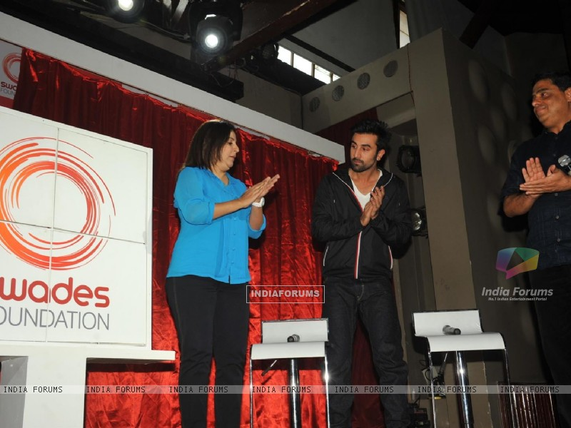 Ranbir Kapoor & Farah Khan unveiled and supported for Swades Foundation (232249) size:800x600