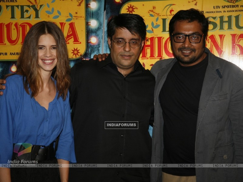 Kalki Koechlin, Anurag Kashyap at Special Screening of Luv Shuv Tey Chicken Khurana (236044) size:800x600