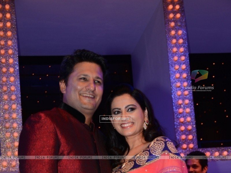 Ankush Mohla and Smita Bansal at Nach Baliye 5 (249096) size:800x600