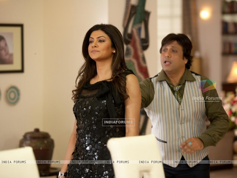 A still image of Govinda and Sushmita Sen (38096) size:800x600