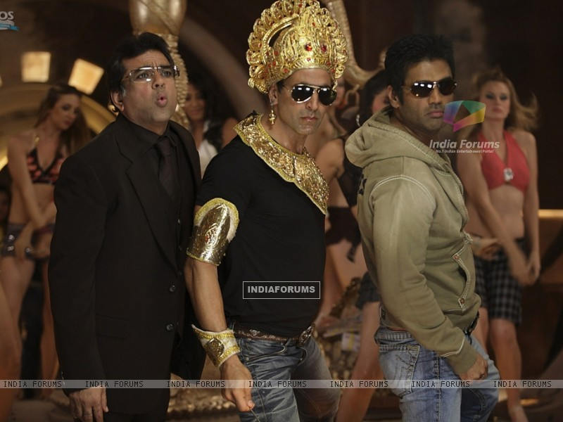 Still image of Akshay Kumar, Paresh Rawal and Sunil Shetty (38749) size:800x600