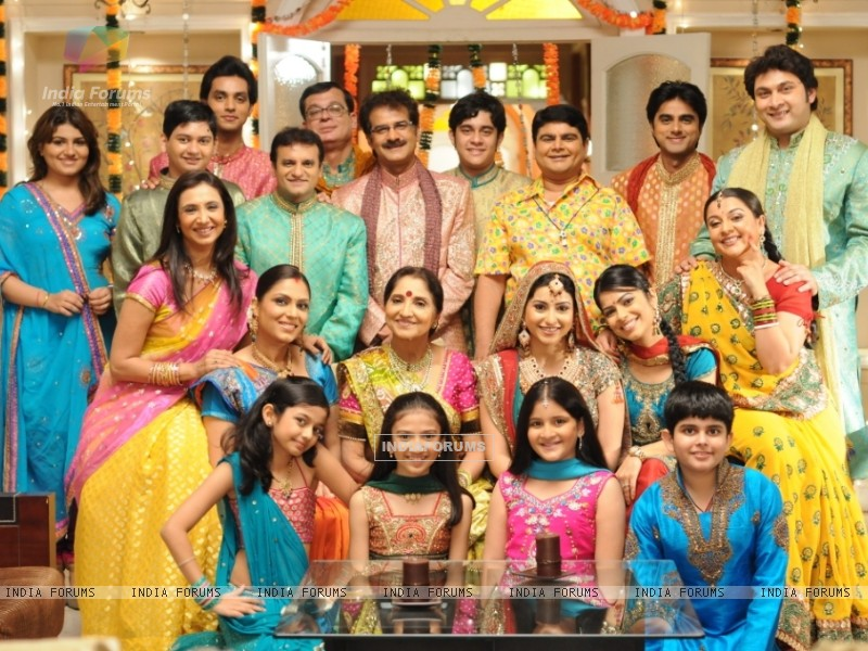 All cast of Baa Bahu Aur Baby show (39543) size:800x600