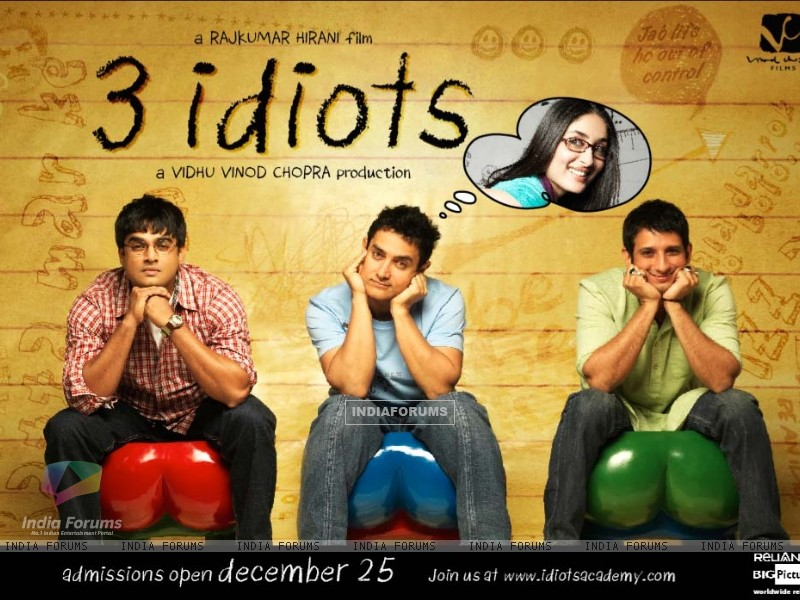 Wallpaper of the movie 3 Idiots (40300) size:800x600