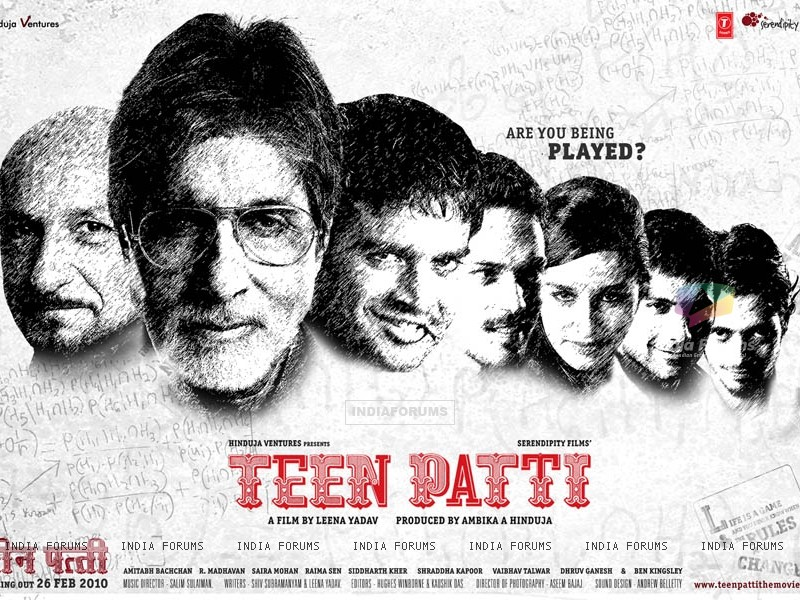 Wallpaper of the movie Teen Patti (41712) size:800x600