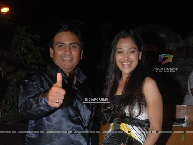 Dilip Joshi and Disha Wakani (42280) size:800x600