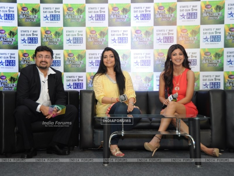 Anupam Vasudev (evp Marketing Star Plus), Vaibhavi Merchant and Shilpa Shetty (60220) size:800x600