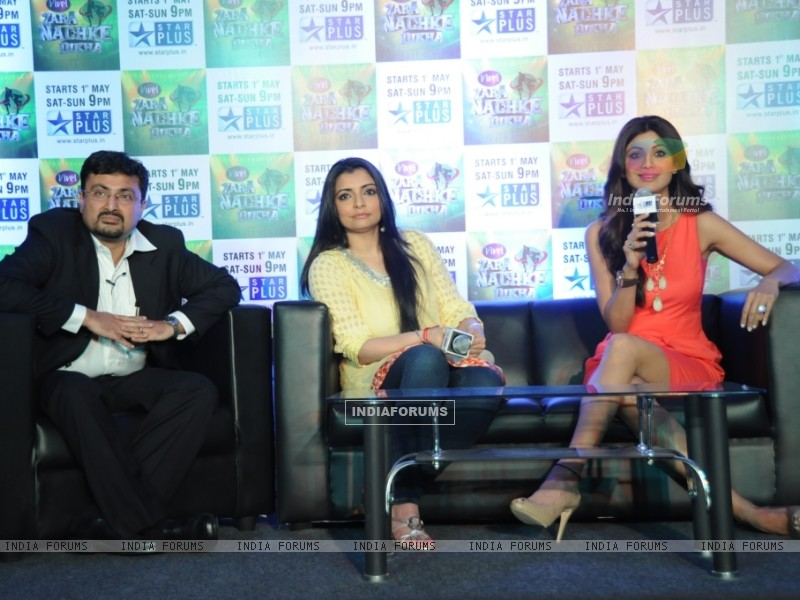 Anupam Vasudev (evp Marketing Star Plus), Vaibhavi Merchant and Shilpa Shetty (60221) size:800x600