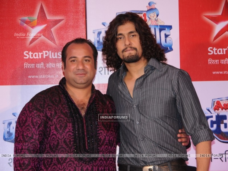 Rahat Fateh Ali Khan & Sonu Nigam as a judges (91247) size:800x600